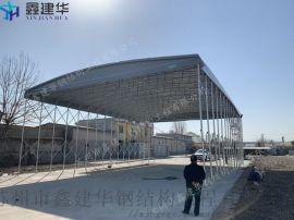 临沂市罗庄区电动雨棚、伸缩户外帆布帐篷厂家
