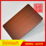拉絲紫銅亮光防指紋不鏽鋼板廠家直銷