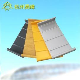 氟碳漆铝镁锰屋面板 65-330铝合金板