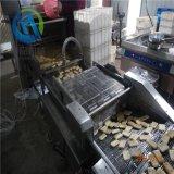 餅乾沾糖稀機供應廠家 新結構餅幹上糠機器