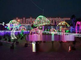 圣诞灯雪花灯 挂树雪花灯 雪花彩灯 雪花轮廓
