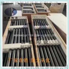 百德厂家直销广东潮州专用碳化硅横梁 碳化硅辊棒