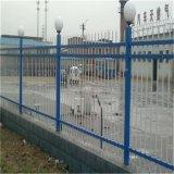 廠家直銷帶尖防盜圍牆方管護欄欄杆