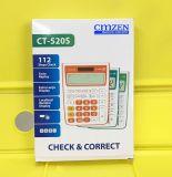 CMZEN計算器  CT-520s 12位查數電子計算器 出口計算器