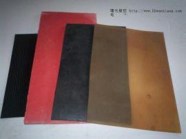 供应山东地区施工用3mm黑色工业橡胶板