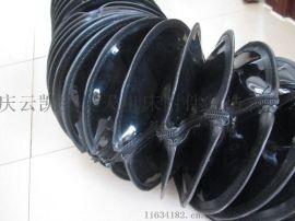 伸缩式防火布丝杠防护罩