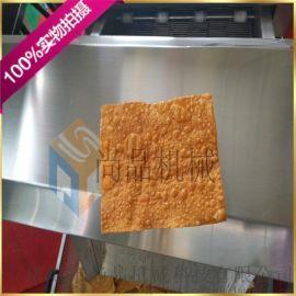 小型薄脆油炸机 油炸煎饼脆皮机 简易薄脆油炸机