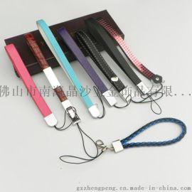 PU防皮手机带,真皮手机带,手机挂绳
