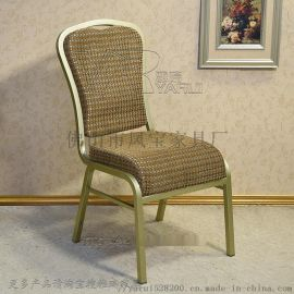 简易椅子,简约现代,美式实木布艺餐椅,咖啡屋