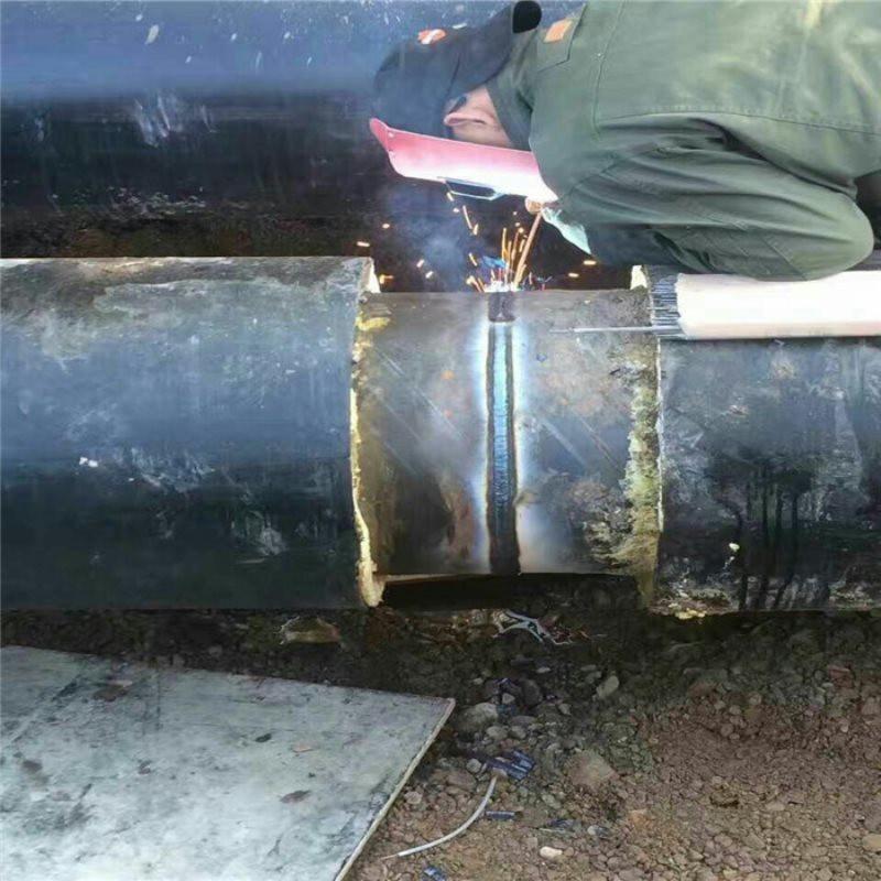 通辽 鑫龙日升 聚氨酯预制直埋保温管dn65/76聚氨酯保温无缝管