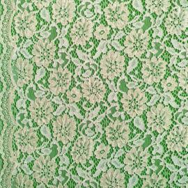 锦棉粗股线几何花型蕾丝女装面料新款可订染