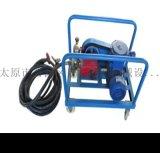 宁夏中卫市风动潜水泵矿用全自动潜水泵抽灰浆用隔膜泵