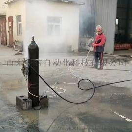 出租水刀高压水切割机便携式小型防爆水射流切割油罐