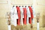 折扣女装一手货源水墨生香时尚真丝连衣裙折扣货源