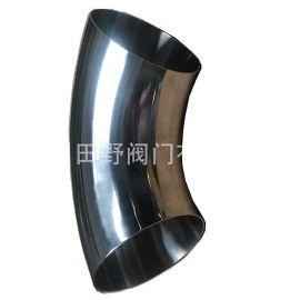 316L制药级内外镜面抛光90度焊接弯头 Sanitary welding elbow
