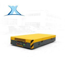 搬运电子元器件电动无轨搬运车 双线工业无轨平车 电动地平车