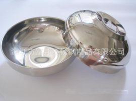 不锈钢韩式面碗,汤碗,韩式双层碗