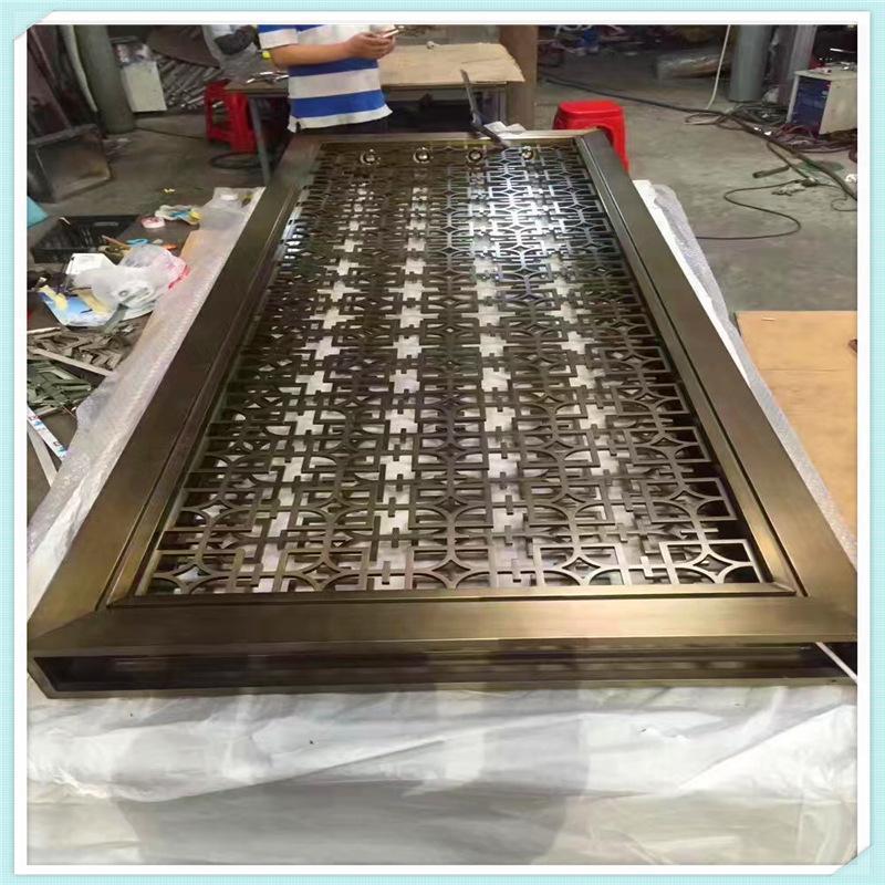 不鏽鋼創意裝飾屏風304異形屏風定製利創不鏽鋼屏風源頭工廠批發