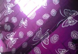 紫红色不锈钢花纹板(YH-1087)