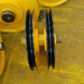 吊钩抓斗定动滑轮组 吊机起重滑轮 不锈钢滑轮