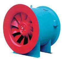 SWF(A)-Ⅱ型双速电机**低噪声车间厂房通风换气混流风机