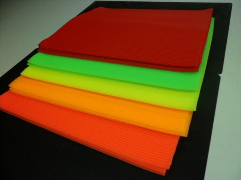 维叶耐高温彩色硅胶片