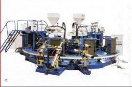 全自动卧式PVC双色雨靴注射成型机(KR21600W)