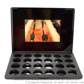 东莞市眼影盘24色磁性眼影空盒塑胶包材厂家