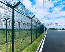 民用机场工程钢筋网围界 A飞行区跑道物理隔离围界