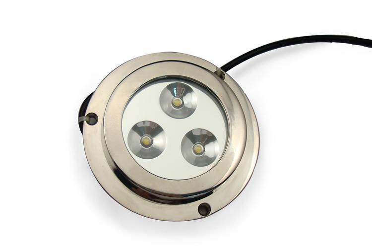 LED船用游艇灯TD0080    大功率    防水 水底水下灯3x2W