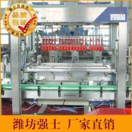 山东潍坊强士自动装箱机厂家直销润滑油装箱机花生油装箱机