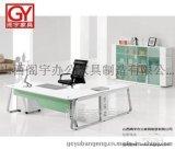 山西阁宇GY-BT1506办公桌 山西胶板办公桌批发