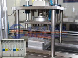 微柱凝胶卡铝箔封口设备 微柱凝胶卡铝箔封口机
