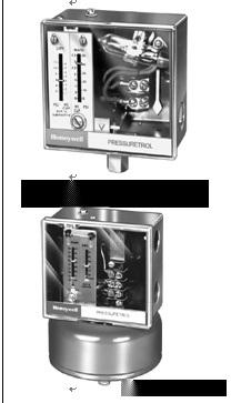 霍尼韦尔锅炉压力控制开关L404、蒸汽压力控制器L91B\P7800