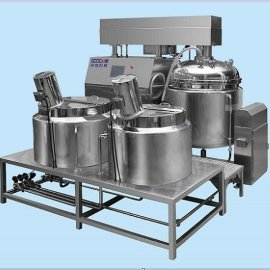 {新款}GOODYM 全自动乳化机、高剪切均质乳化机、PLC控制系统、CIP清洗系统 GDZRJ-1000