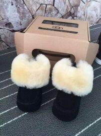 1003098I羊皮毛一体  鞋室内保暖  鞋软底学步男女儿童雪地靴