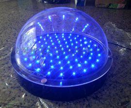 透明有机玻璃led穿孔外露灯 半圆形发光灯箱酒吧ktv装饰 展示罩
