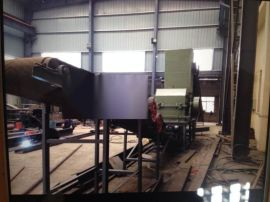 供江阴油漆桶破碎机,110型油漆桶破碎机,全新油漆桶撕碎机