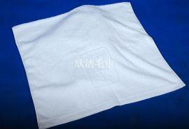 宾馆客房纯棉方巾