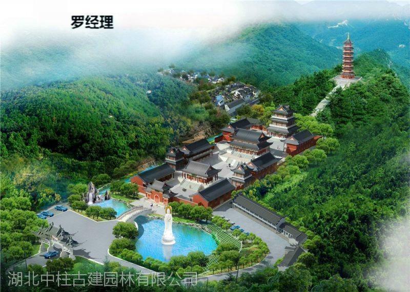 寺庙规划设计、寺院规划方案、寺庙总体规划方案图