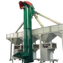大容量垂直斗提机 板链式石子提升机qc