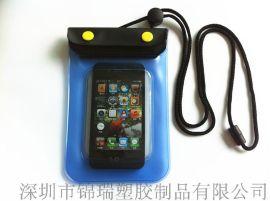 厂家批发可触屏pvc手机防水袋 三星/IPHONE手机防水袋 可定制LOGO