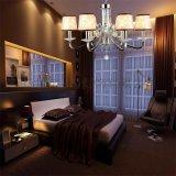 歐式現代鐵藝水晶吊燈客廳餐廳臥室吊燈6621