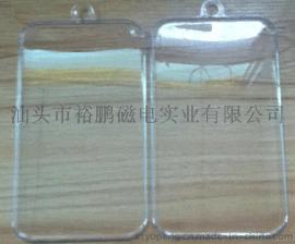 手机保护膜透明水晶盒 钢化玻璃透明盒 钢化玻璃透明包装盒 ps盒