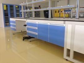 供应抗酸碱实验台型号M10台面可选环氧树脂理化板等博兰特实验室工厂