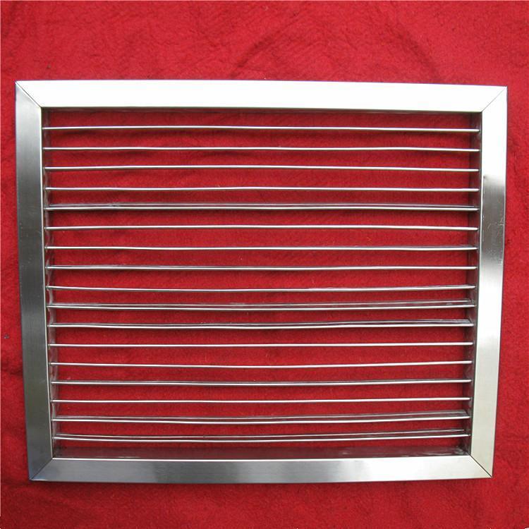 不锈钢单层可调百叶风口