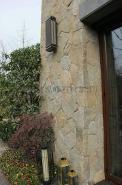 黄木纹文化石价格虎皮黄文化石好石材就是泓峰蘑菇石厂家