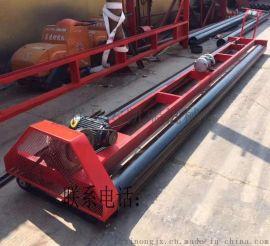 混凝土二轴路面摊铺机 两滚轴整平机 两轴震动梁
