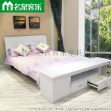 双人板式床 822A床大连板式家具
