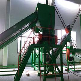 100-150KG PVC热切造粒生产线